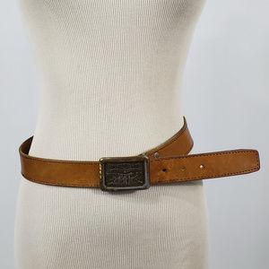 Levi's Accessories - VINTAGE Levi Strauss Genuine Leather Belt 34in